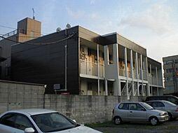 埼玉県川口市東領家2丁目の賃貸アパートの外観