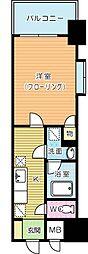第25エルザビル[6階]の間取り