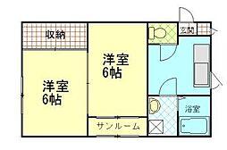 R・ASAHIGAOKA 2[204号室]の間取り