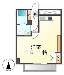 ドゥーエ大須(旧メゾン・ド・ヴィレ大須)[12階]の間取り