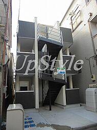 東京都葛飾区堀切4の賃貸アパートの外観