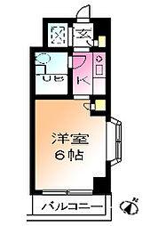ウィンベルソロ鶴川第一[3階]の間取り