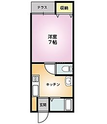 新井駅 3.7万円