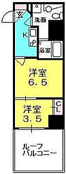 S-FORT西宮(旧サムティ西宮レジデンス)[412号室]の間取り