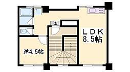 兵庫県神戸市中央区割塚通5丁目の賃貸マンションの間取り