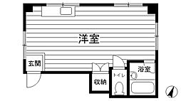 藤本ハイツ[301号室]の間取り