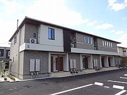 徳島県板野郡藍住町東中富字龍池傍示の賃貸アパートの外観