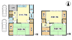 [一戸建] 兵庫県姫路市東辻井2丁目 の賃貸【/】の間取り