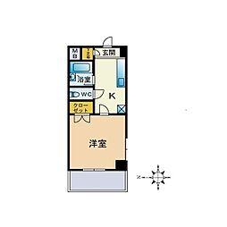スプリングハイム[3階]の間取り
