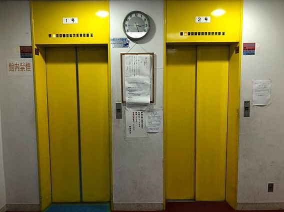 【エレベーター...