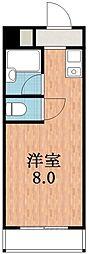 シティアーク天王寺[6階]の間取り