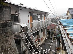 長崎県長崎市水の浦町の賃貸アパートの外観