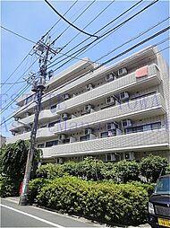 東京都品川区西中延3丁目の賃貸マンションの外観