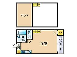 エスコートゆう館[2階]の間取り