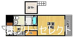 福岡県福岡市博多区諸岡5丁目の賃貸マンションの間取り