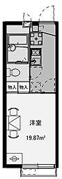 ビューテラス[102号室]の間取り