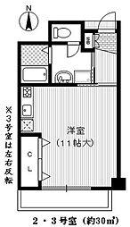 ハイツリベラ[1階]の間取り