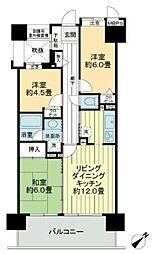 ライオンズタワー片瀬江ノ島[13階]の間取り