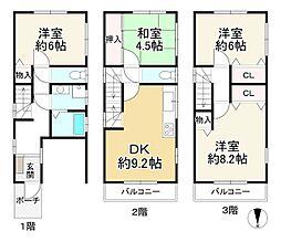 阪神本線 石屋川駅 徒歩6分