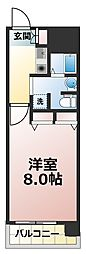 アスリート新大阪II番館[10階]の間取り