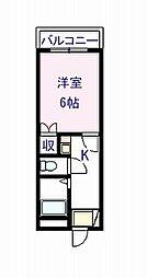コートTAKUMI[2階]の間取り