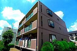 東京都清瀬市梅園3丁目の賃貸マンションの外観
