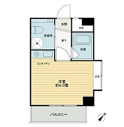 朝日プラザ戸塚アネックス[2階]の間取り