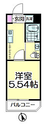 (仮称)青葉区台原共同住宅B棟[101号室]の間取り