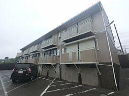 千葉県四街道市鹿渡の賃貸アパートの外観