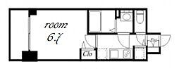 プレサンス金山デュアル[2階]の間取り