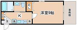 アロハ舞子[1階]の間取り