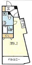 インフィールド溝口[5階]の間取り