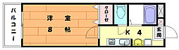 エクセレントセンチュリー2[2階]の間取り