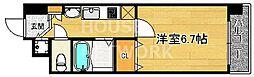 プレサンス京都三条響洛[103号室号室]の間取り