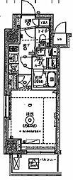 パティーナ麻布十番[5階]の間取り