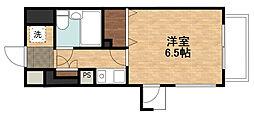 ライオンズマンション三宮東第2[4階]の間取り