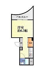 西岡ビル[3-A号室]の間取り
