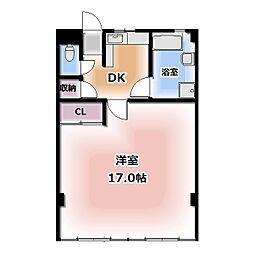 西春オカマンション[506号室]の間取り