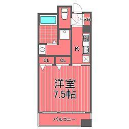 ビューサイト横浜[7階]の間取り