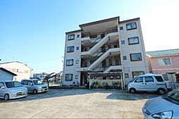 愛知県名古屋市中川区万場3丁目の賃貸マンションの外観