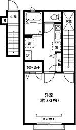 パルコ-ト桜台[2階]の間取り