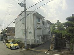 兵庫県宝塚市平井2丁目の賃貸アパートの外観