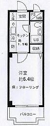 埼玉県さいたま市浦和区前地2丁目の賃貸マンションの間取り
