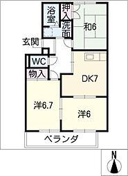 MaisonPlanet[3階]の間取り