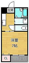メゾンドオーブII[3階]の間取り