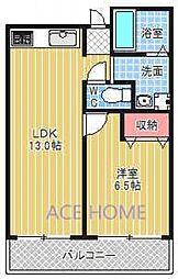 メロディハイム新大阪[405号室号室]の間取り
