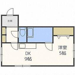 エスティーコート[2階]の間取り