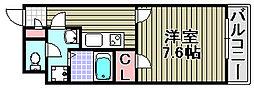 クレイノグランメゾン アオイ[304号室]の間取り