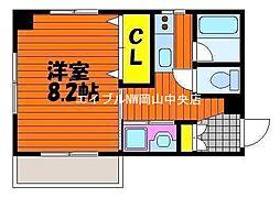 スタシオン電車みち[3階]の間取り