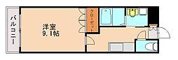River Court YAHIROI(リバーコート ヤヒロ[2階]の間取り
